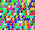 Castiga geme colorate